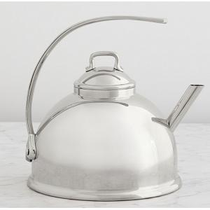 Mauviel M'tradition 3L Stainless Steel Tea Kettle